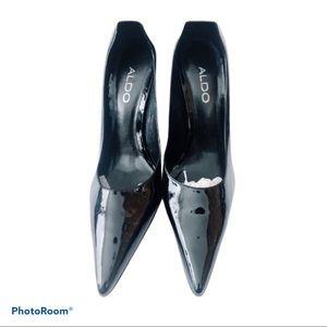NWOT Black Stiletto heels
